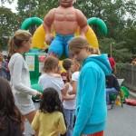 Kids at Neighborhood Event