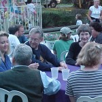 R. Weill and Other Residents at Party in the Park