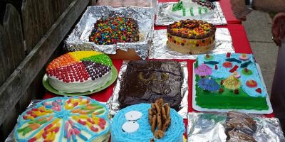 Cakes for Cake Walk Winners - Annual Party in the Park
