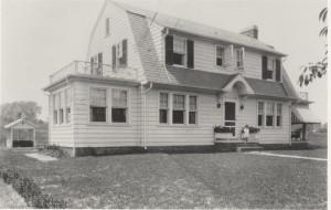 Brookeville House - Black and White Photo